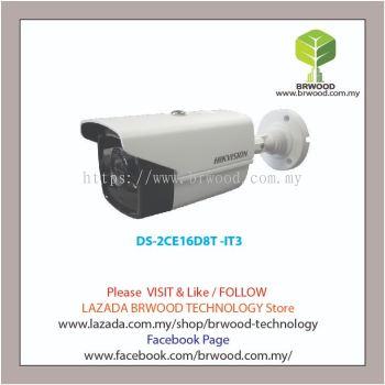 HIKVISION DS-2CE16D8T -IT3: 2 MP Ultra Low-Light PoC EXIR Bullet Camera