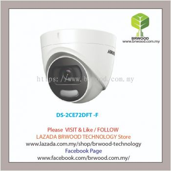 HIKVISION DS-2CE72DFT -F: 2MP Full Time Color Turret Camera