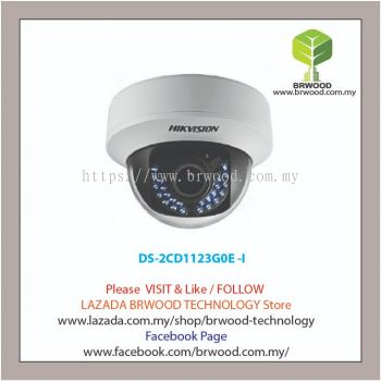 HIKVISION DS-2CD1123G0E -I: Network 2MP 1080P Fixed Lens IR Full HD Dome IP Camera