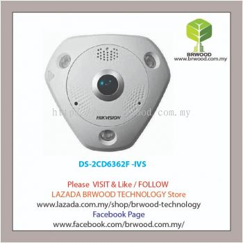HIKVISION DS-2CD6362F -IVS: 6MP Fish-eye Network Camera