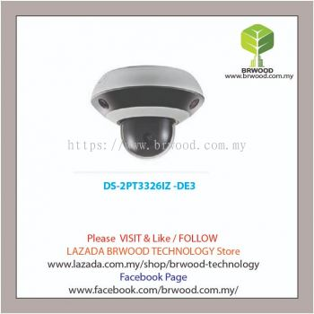 HIKVISION DS-2PT3326IZ -DE3: PanoVu Mini Series IR Network PTZ Camera (2.8-12mm)