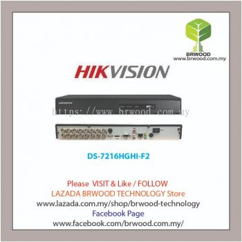 HIKVISION DS-7216HGHI-F2: 16 Channel Turbo HD Digital Video Recorder (DVR)