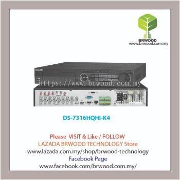 HIKVISION DS-7316HQHI-K4: Turbo HD 16CH 5MP Full HD Digital Video Recorder (DVR)