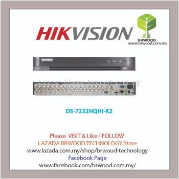 HIKVISION DS-7232HQHI-K2: TURBO HD 32CH 4MP FULL HD DIGITAL VIDEO RECORDER (DVR)