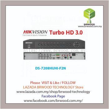 HIKVISION DS-7208HUHI-F2N: Turbo HD 8CH 3MP Digital Video Recorder (DVR)
