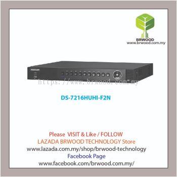 HIKVISION DS-7216HUHI-F2N: TURBO HD 16 CH 3MP DIGITAL VIDEO RECORDER (DVR)