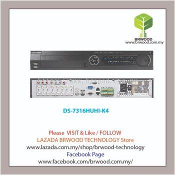 HIKVISION DS-7316HUHI-K4: Turbo HD 16CH 5MP Full HD Digital Video Recorder (DVR)