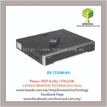 HIKVISION DS-7732NI-K4: 32CH 4K EMBEDDED PLUG & PLAY NETWORK VIDEO RECORDER(NVR)