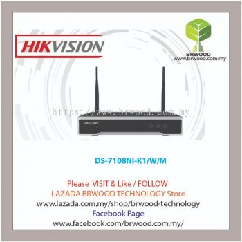 HIKVISION DS-7108NI-K1/W/M: 8 CH WIFI NETWORK VIDEO RECORDER (NVR)