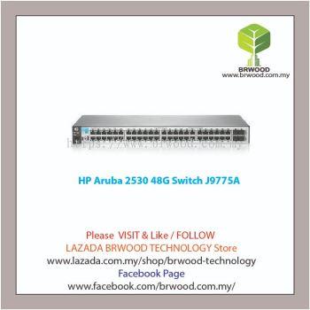 HP Aruba J9775A: Aruba 2530 48G 48 port 10/100/1000 Mbps c/w 4xSFP Switch