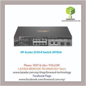 HP Aruba J9783A: Aruba 2530 8 8 port 10/100 Mbps C/W 2XGBASE-T 2XSFP Switch