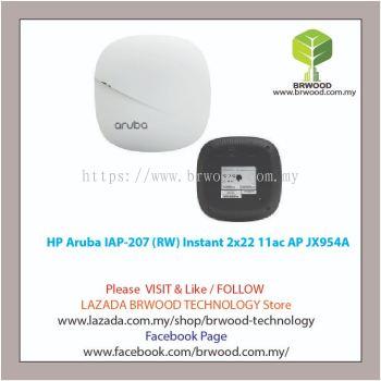 HP Aruba JX954A: Aruba IAP-207 (RW) Instant 2x2:2 11ac Access Point