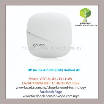HP Aruba JZ320A: Aruba AP-303 (RW) Unified Access Point