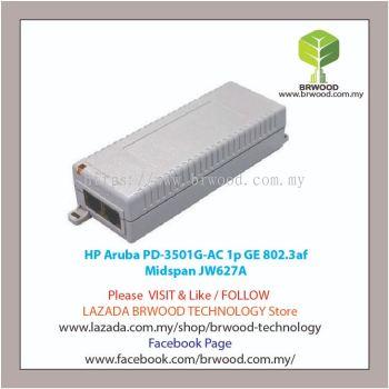 HP Aruba JW627A: PD-3501G-AC 1p GE 802.3af Midspan