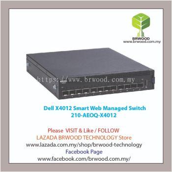 Dell 210-AEOQ-X4012: X4012 12 port 10GB SFP+ Smart Web Managed Switch