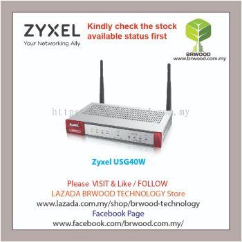 Zyxel USG40W: NEXT GENERATION UTM FIREWALL APPLIANCE (DEVICE ONLY)