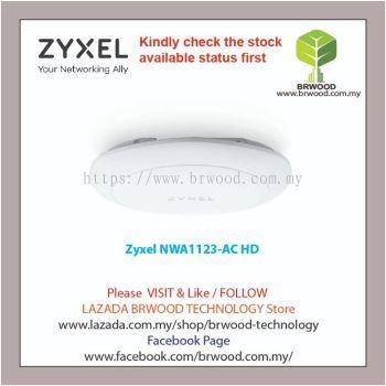 Zyxel NWA1123-AC HD: 802.11ac Wave2 Dual-Radio PoE Access Point