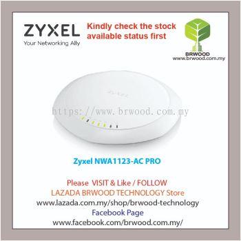 Zyxel NWA1123-AC PRO: 802.11ac Dual-Radio Dual Mount PoE Access Point