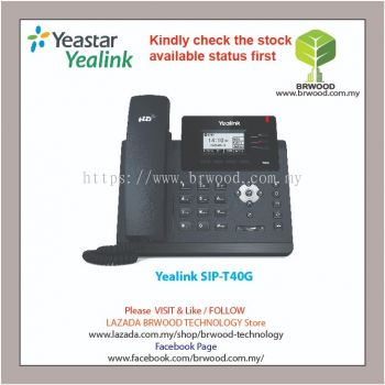 Yealink SIP-T40G: Ultra elegant business SIP-Phone