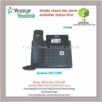 YEALINK SIP-T40P: ULTRA ELEGANT BUSINESS Three Lines & HD Voice SIP-PHONE