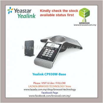 Yealink CP930W-Base: WIRELESS DECT CONFERENCE PHONE With Base