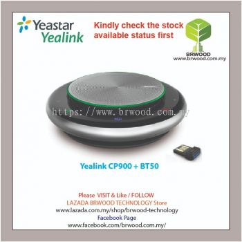 Yealink CP900 + BT50: Ultimate Compact Flexible Speakerphone with USB Bluetooth dongle