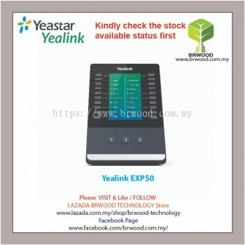 YEALINK EXP50:High-performance Color-screen Expansion Module for T5-series