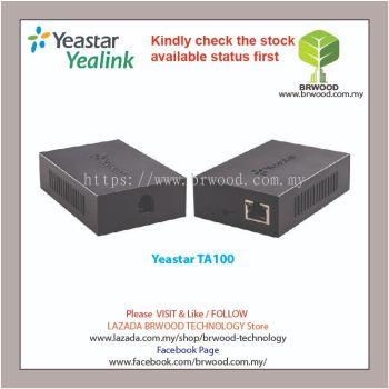 YEASTAR TA100: Neogate Analog Telephone Adaptor with 1 FXS Port