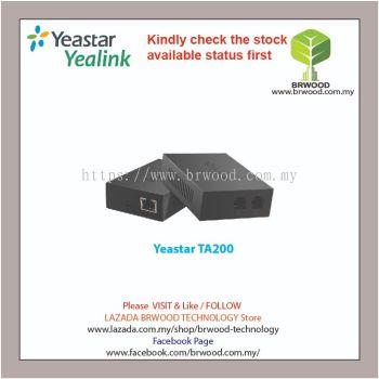 YEASTAR TA200: NEOGATE ANALOG TELEPHONE ADAPTOR WITH 2 FXS PORT