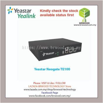 YEASTAR TE100: NEOGATE 1E1 TE Series E1/T1/PRI VoIP Gateway