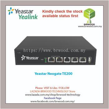 YEASTAR TE200: NEOGATE 2E1 TE SERIES E1/T1/PRI VOIP GATEWAY