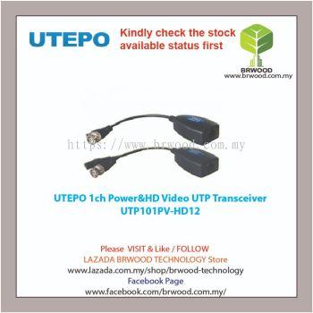UTEPO UTP101PV-HD12: 1ch Power & HD Video UTP Transceiver