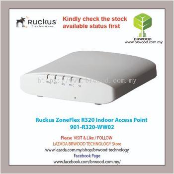RUCKUS 901-R320-WW02: ZoneFlex R320 Indoor 802.11ac Wave 2 Wi-Fi  Access Point