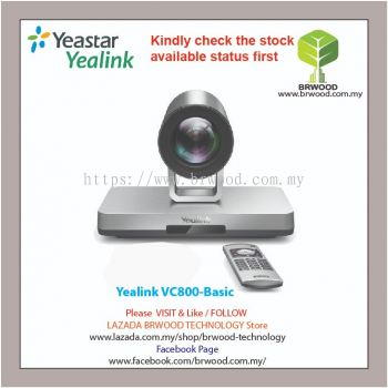 Yealink VC800-Basic: VIDEO CONFERENCING SYSTEM FOR BETTER COLLABORATION