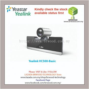 Yealink VC500: Video Conferencing System For Small and Medium Rooms
