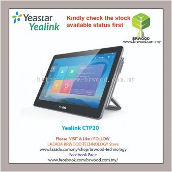 Yealink CTP20: Collaboration touch panel