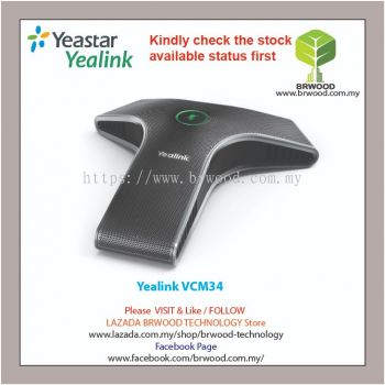 Yealink VCM34: Video Conferencing Microphone Array