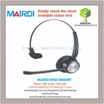 MAIRDI MRD-M800BT: Mairdi Single ear (Monoural) bluetooth wireless headset