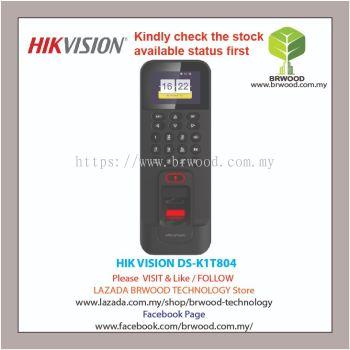 HIK VISION DS-K1T804: Fingerprint Access Control Terminal