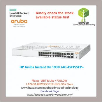 HP ARUBA JL682A: INSTANT ON 1930 24G 4SFP+ SWITCH