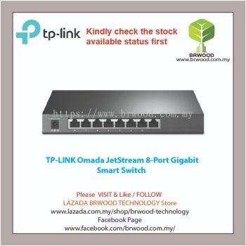 TP-LINK OMADA :TL-SG2008(T1500G-8T) JetStream 8-Port Gigabit Smart Switch