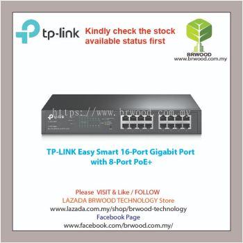 TP-LINK TL-SG1016PE: Easy Smart 16-Port Gigabit with 8-Port PoE+ Switch