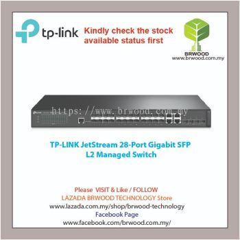 TP-Link T2600G-28SQ: JetStream 28-Port Gigabit SFP L2 Managed Switch