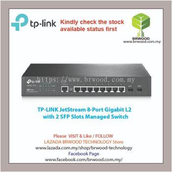 TP-Link T2500G-10TS(TL-SG3210): JETSTREAM 8-PORT GIGABIT WITH 2 SFP L2 MANAGED SWITCH