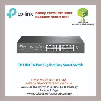 TP-Link TL-SG1016DE: 16-Port Gigabit Easy Smart Switch