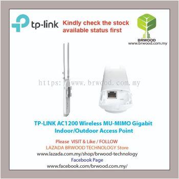 TP LINK EAP225-Outdoor: AC1200 Wireless MU-MIMO Gigabit  Indoor/Outdoor Access Point