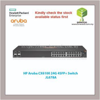 HP Aruba JL678A : CX6100 24G 4SFP+ SWITCH