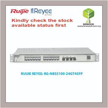 RUIJIE REYEE RG-NBS5100-24GT4SFP: 24GE C/W 4 SFP GIGABIT L2+ CLOUD MANAGED SWITCHES
