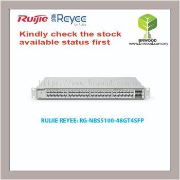 RUIJIE REYEE RG-NBS5100-48GT4SFP: 48GE C/W 4 SFP GIGABIT L2+ CLOUD MANAGED SWITCHES