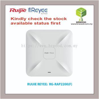 RUIJIE REYEE RG-RAP2200(F): AC1300 DUAL BAND CEILING MOUNT ACCESS POINT